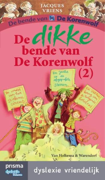 9789000334117 PrismaDyslexie De dikke bende van De Korenwolf 2 (e-boek)