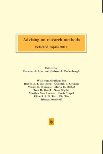 9789079418381 Advising on research methods: Selected topics 2014 (e-boek)