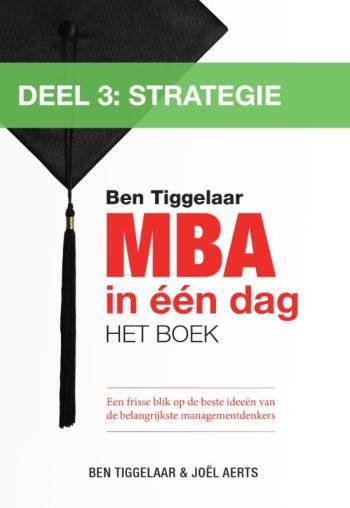 9789079445639 MBA in ??n dag - Strategie (deel 3) (e-boek)